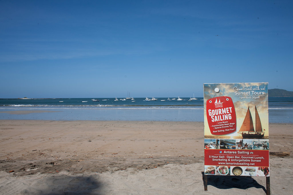 Sailing on the Pacific