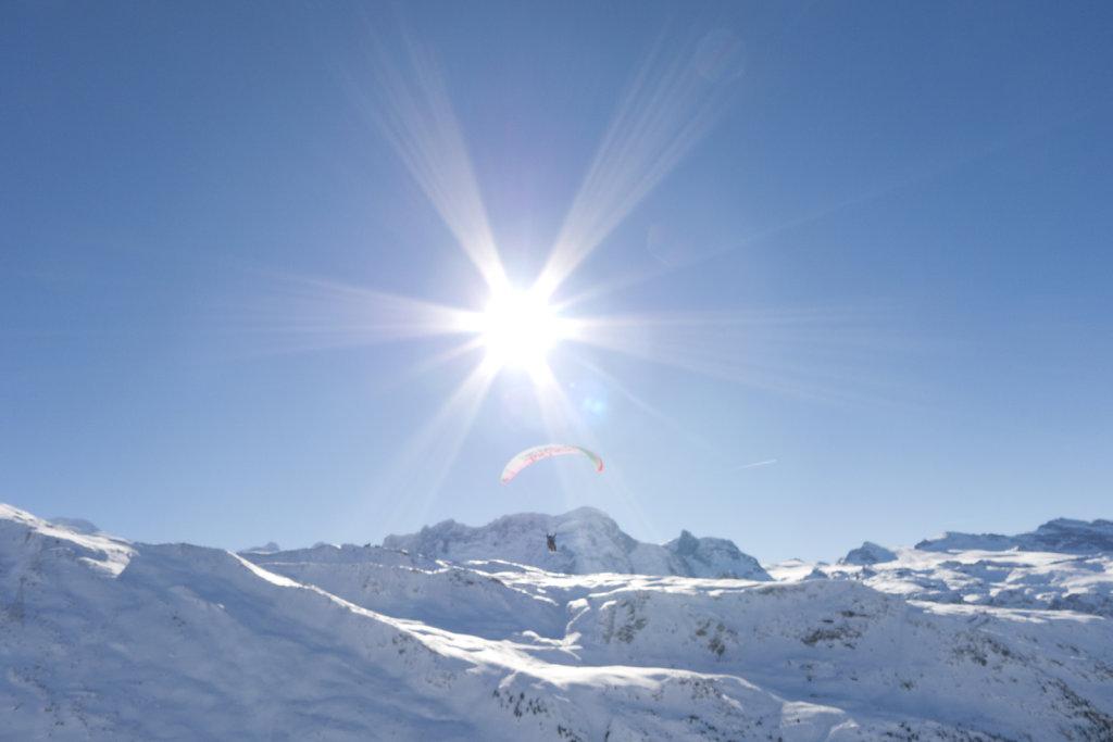 Swiss unny Alps