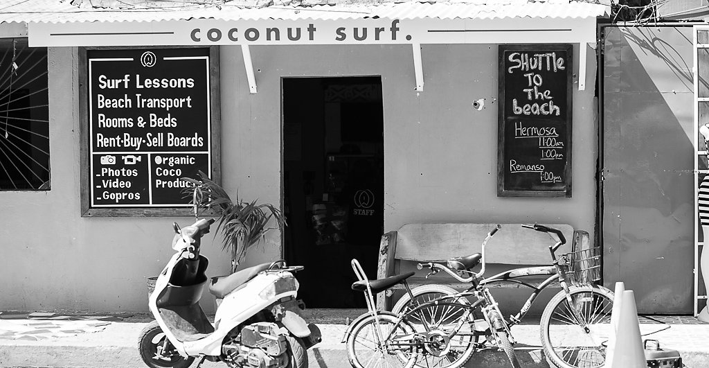 Surfing on a Coconut?
